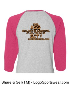 Ladies Vintage Baseball T-Shirt Design Zoom