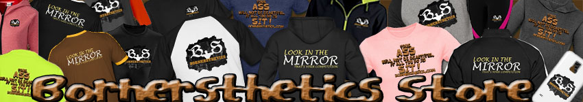 Bornersthetics Store Custom Shirts & Apparel