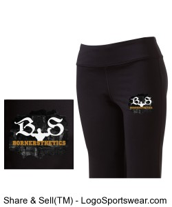 Sport-Tek - Ladies NRG Fitness Pant Design Zoom